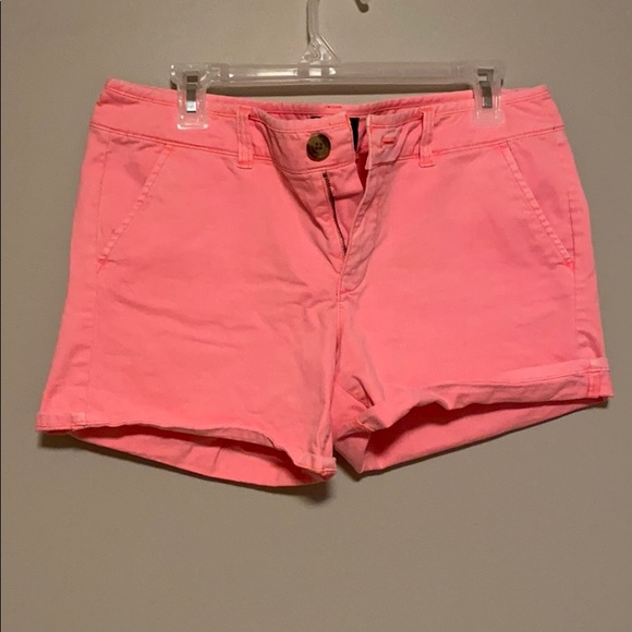 American Eagle Bright Pink Shorts